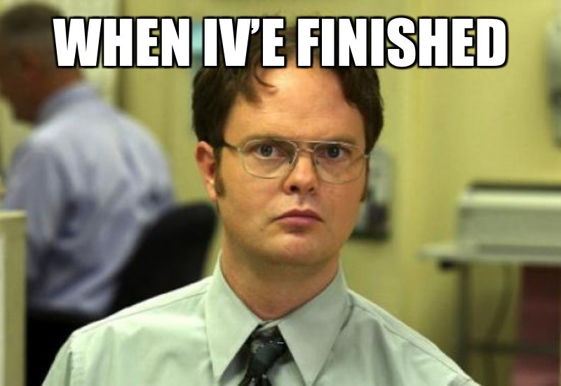 All the office Seasons; When iv'e finished