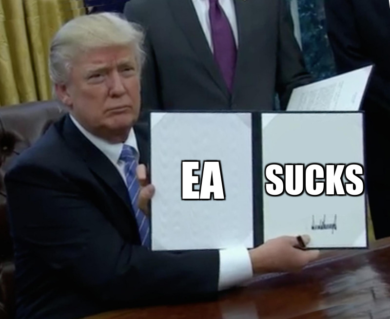 Ea ; Sucks